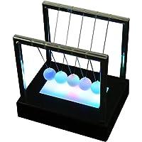 Vosarea Pendule de Newton Balle d'équilibre de Berceau Jouet Lumineux de Bureau Cadeau idéal sans Batterie