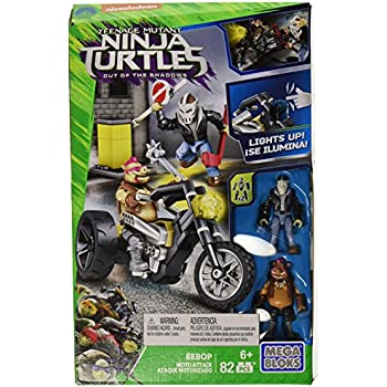 Amazon.com: Mega Bloks Teenange Mutant Ninja Turtles: Out of ...