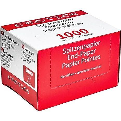 Efalock Professional Spitzenpapier, 1er Pack, (1x 500 Stück) (1x 500 Stück) 12758