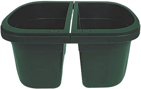 Set of 2 Green Apollo Exports International AP-30231//2 16 Double Sided Adjustable Railing Planter,