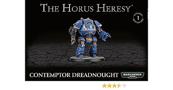 Warhammer 40000 Hérésie d/'horus Dreadnought Contemptor