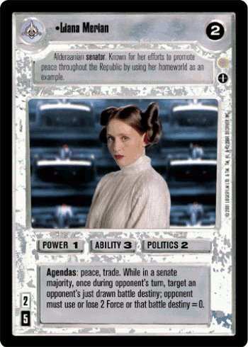with Star Wars Trading Cards design