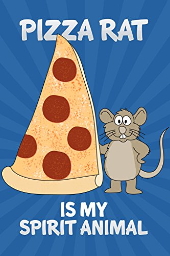 [Pizza Rat Is My Spirit Animal Rat Taking Pizza Home New York City NYC Subway Station Poster 12x18] (Pizza Rat Dog Costume)