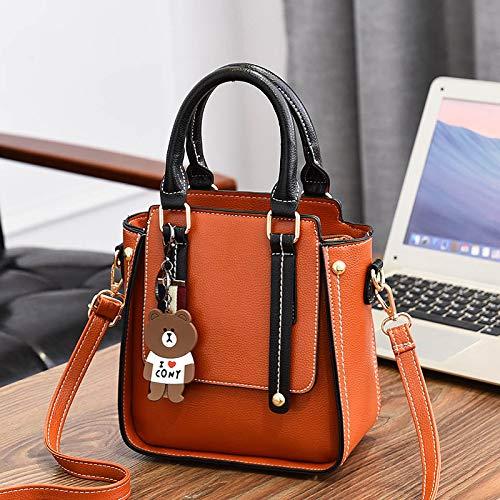 XMY Damen Tasche Mode Umhängetasche einfache Wilde Umhängetasche Mobile Handtasche B07M7VLPYZ Schultertaschen Geeignet für Farbe