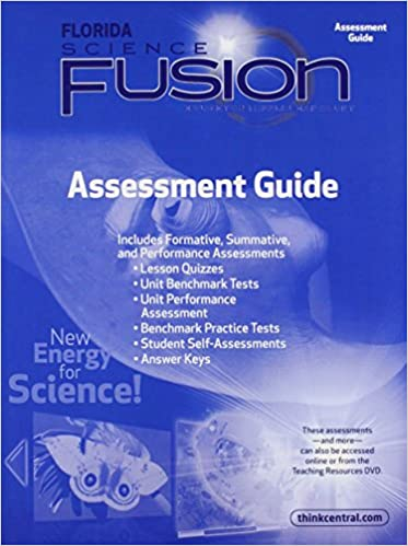 Houghton Mifflin Harcourt Science Florida Assessment Guide