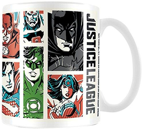 Dc Comics Justice League 52 Style Ceramic Mug]()