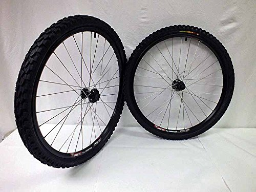 26 inch WTB Speed Disc All Mountain Wheels with WTB Velociraptor Tires and Tubes by WTB