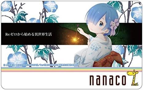 Re:ゼロから始める異世界生活 nanacoカード+タペストリーB柄レム
