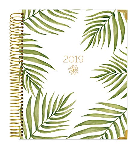 photo about Hardcover Daily Planner named bloom each day planners 2019 Calendar Calendar year Hardcover Eyesight - Import It All
