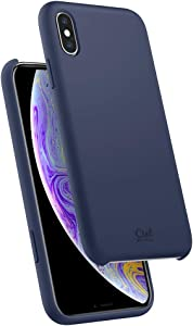 Ciel by CYRILL [Silicone Collection] Designed for Apple iPhone Xs Case (2018) / Designed for Apple iPhone X Case (2017) - Midnight Blue