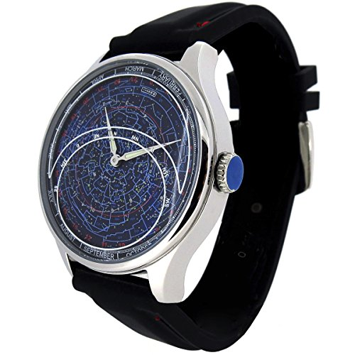 Astro II Constellation Watch - Planisphere and Astronomy Celestial ()