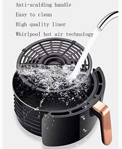 Air Fryer Accessoires Luchtfriteuse 1400 W Luchtfriteuse Met LED LCD Touchscreen 4.5L Intelligente Een Knop Grote Capaciteit Luchtfriteuse 360 Graden Heteluchtcyclus