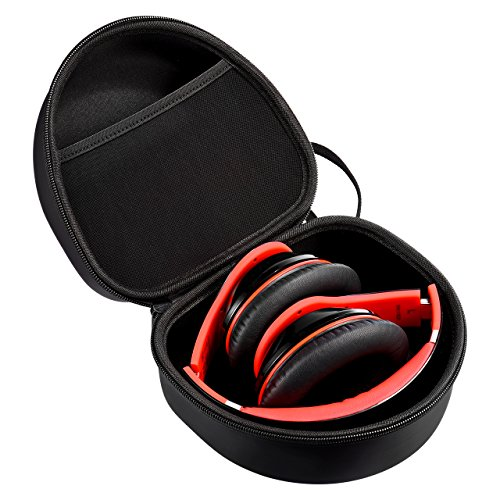 Mpow Earmuff Case for Mpow 035/068/108 Noise Reduction Safety Ear Muffs, Hard Travel Case EVA Hardshell for Mpow 059/H1/H2/H5 Foldable Headphone, Travel Carrying Case with Mesh Pocket for Accessories by Mpow (Image #1)