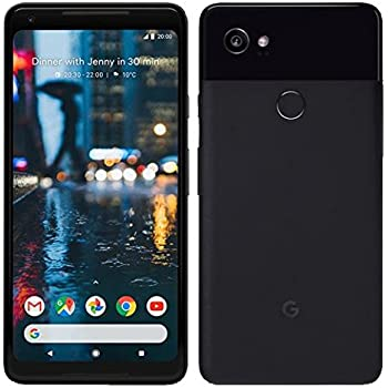Google Pixel 2 XL 64GB Unlocked - Black (Certified Refurbished)
