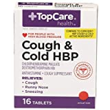 Top Care Cough & Cold HBP (Pack of 16)