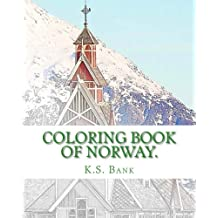 Coloring Book of Norway.