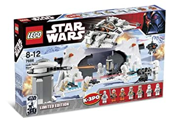LEGO 7666 Star Wars - Base rebelde de Hoth (edición limitada)