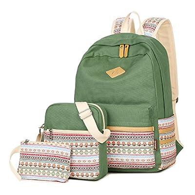 70%OFF KARRESLY Unisex Lightweight Canvas Laptop Bag Shoulder Daypack School Backpack Handbag Bookbags College Bags