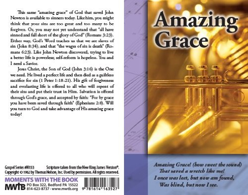 Amazing Grace (Packet of 20, NKJV)