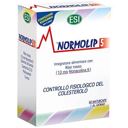 ESI Normolip 5 Cholesterol Formula – Pack of 60 Capsules