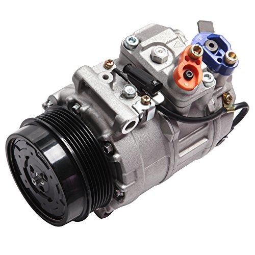 Ac Mercedes Benz Compressor (AC Compressor and A/C Cluth ECCPP CO 11240C Automotive Replacement Compressor Assembly for 2007-2013 Mercedes-Benz S550 4.6L 5.5L)