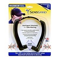 Banda de protección auditiva ligera SensGard SG-31 NRR 31dB (Negro)