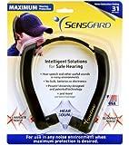 SensGard® SG-31 Lightweight Hearing Protection Band NRR 31dB (Black)