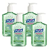 PURELL Advanced Hand Sanitizer with Aloe - Hand Sanitizer Gel 8 fl oz Table Top Pump Bottle