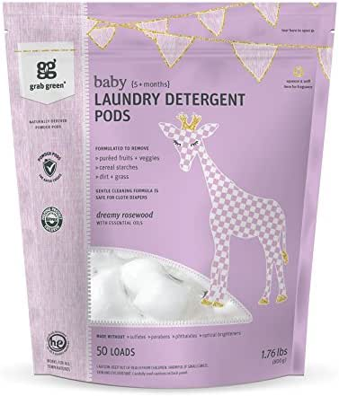 Laundry Detergent: Grab Green Baby