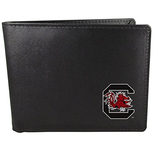 (Siskiyou NCAA South Carolina Fighting Gamecocks Bi-Fold Wallet, Black)
