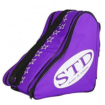 STD SKATES Bolsa para patines de Nylon bolsillo trasero y ...
