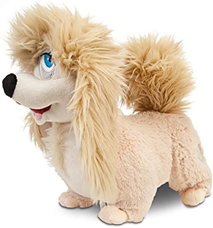 Disney Exclusive Lady The Tramp 11 Inch Deluxe Plush Lhasa Apso Figure Peg Puppets Amazon Canada