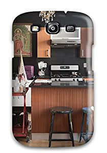 Hot Tpye Black Walls In Kitchen Case Cover For Galaxy S3