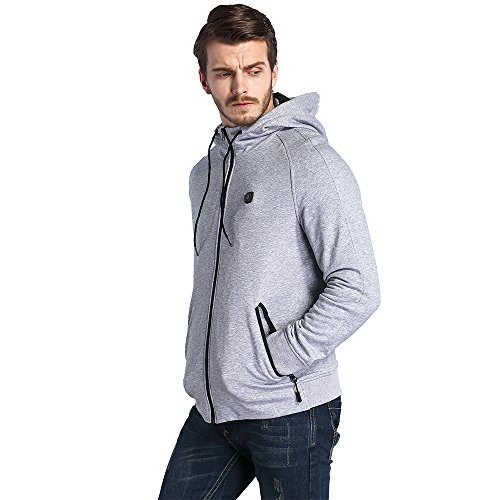 CLIMIX Mens Cordless Heated Hoodie Jacket Kit With Battery Pack (L) by CLIMIX (Image #1)