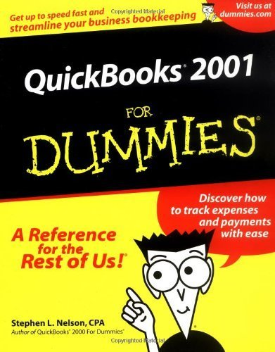 Quickbooks 2001 For Dummies (For Dummies (Computers)) by Stephen L. Nelson (2001-01-15)