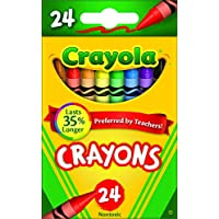 Crayola Crayons 24 Colors (Pack of 4)
