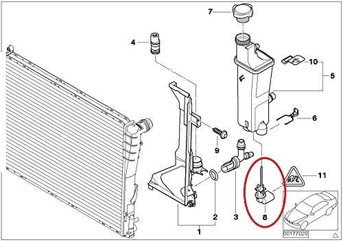 Genuine BMW E46 325i 330i M3 Coolant Levelling Switch Sensor 17137553919 17-13-7-553-919