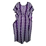 Mogul Womens Caftan Long Kimono Dress Sleepwear Kimono Maxi Dress Holiday Gift
