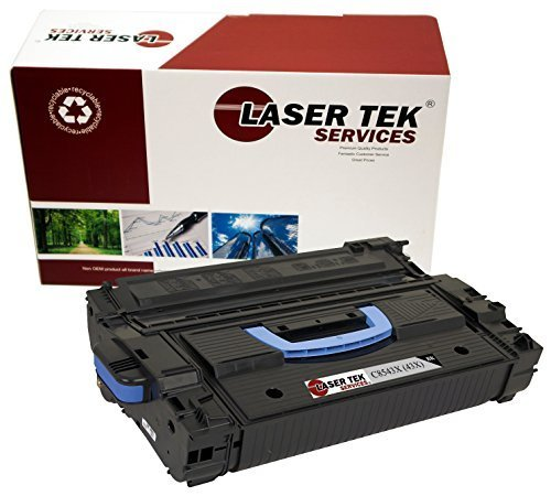 Laser Tek Services Compatible Toner Cartridge Replacement for High Yield HP 43X C8543X (Black, 1-Pack)
