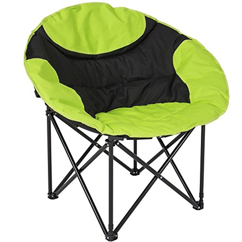 Koonlert14 Outdoor Camping Fishing Portable Folding Lightweight Sport Chair with Shoulder Strap Carrying Bag/Green #596 (Outdoor Australia Bunnings Furniture)