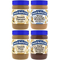 4-Pk. Peanut Butter & Co. Top Sellers Pack Vegan Jars (16 Oz.)