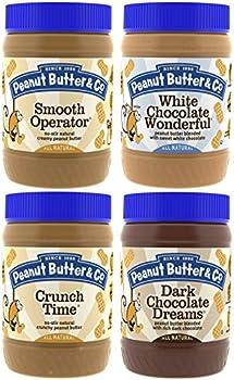 4-Pk. Peanut Butter & Co. Top Sellers Pack Vegan Jars (16 Oz.)