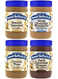 Peanut Butter & Co. Top Sellers Pack, 16 Ounce Jars (Pack of 4)