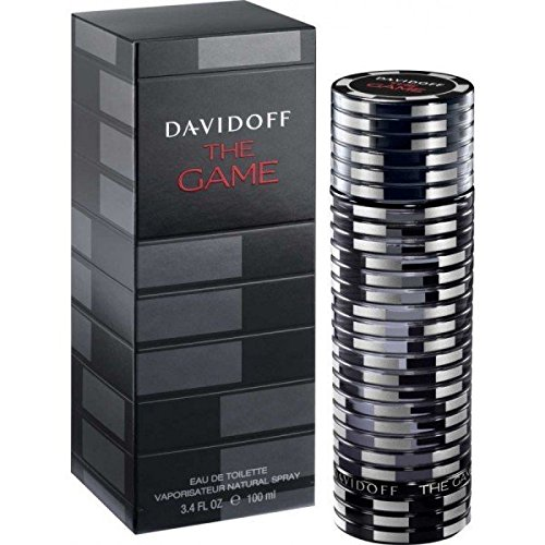 Davidoff The Game Eau de Toilette Spray for Men 3.4 Oz, 100 ml (Brand New Sealed !!)