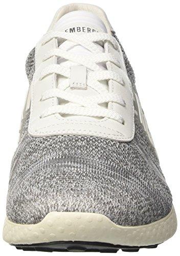 Bikkembergs Strik-Er 896, Zapatillas de Estar por Casa para Hombre Grigio (Grey/white)