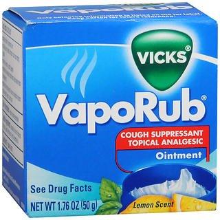 Vicks VapoRub Ointment Lemon Scent - 1.76 oz jar, Pack of 6 by Vicks