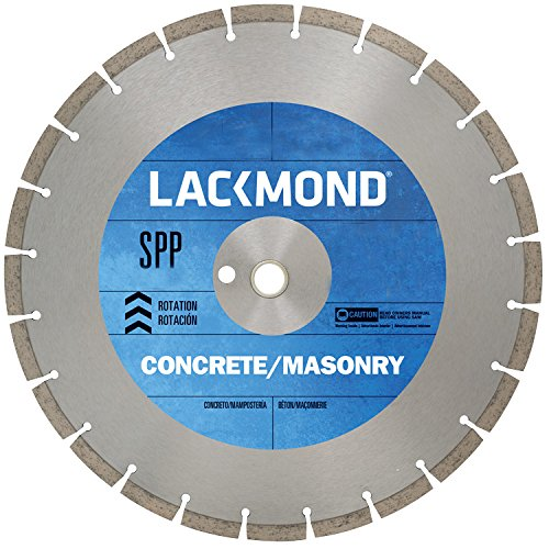 Series Walk Behind Concrete Saw (Lackmond SG12SPP12520 SPP Series Dry Cut Diamond Blade for Cured Concrete,12-Inch by .125 by 20mm)