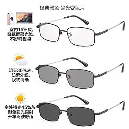KOMNY Color anti polarización gafas azules hombre teléfono móvil juego Juegos Avión ordenador gafas Gafas de