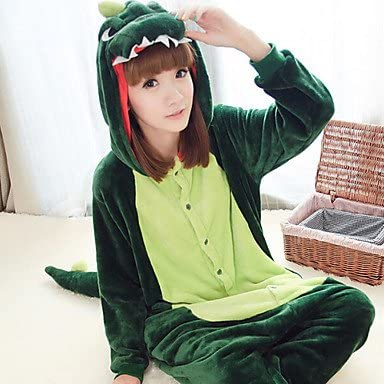 Moro forro polar, diseño de dinosaurio, color verde oscuro, talla ...