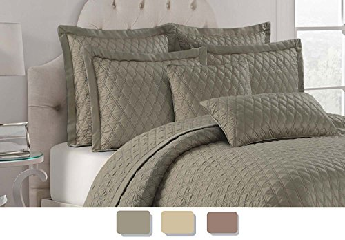 Willow Grove Colorado quilt set, King, Plaza ()